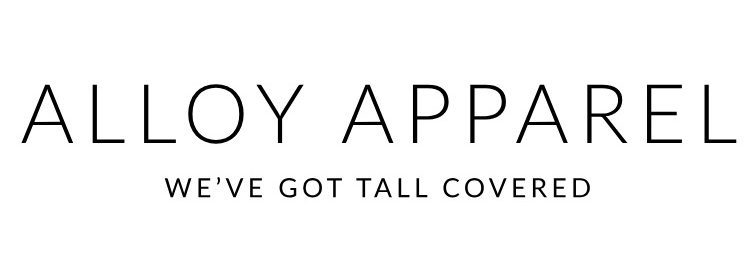 Alloy Apparel. We've Got Tall Covered.